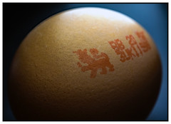 British egg  Macro Monday Hmmm explored 7th March 2017 (c.richard) Tags: egg lion macromondays macro