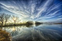 Foggy Morning 2 (Kansas Poetry (Patrick)) Tags: wetlands bakerwetlands wakarusariver kansas lawrencekansas lawrenceks fog clouds birds patrickemerson patricklovesnancy