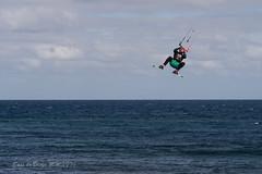 kiteboarding (susodediego ) Tags: kitesurf kiteboarding elburrero ingenio grancanaria canaryislands em10markii thegalaxy infinitexposure autofocus vividstriking soe