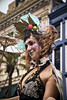 Stilted Lady (msuner48) Tags: d750 acr5 cs4 woman ladyonstilts mardigras costume revelers nikcollection topazlabs nikonafs24120mmf4ged