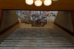 _DSC0041_cw (Wylf) Tags: soviet urss mozaika mosaic urbex cold war youri gagarine ussr hero urbexu history old
