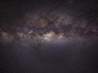 Milky Way over Serpentine Falls @ 35mm