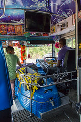 "Inside a local bus - Sri Lanka • <a style=""font-size:0.8em;"" href=""http://www.flickr.com/photos/71979580@N08/20749721455/"" target=""_blank"">View on Flickr</a>"