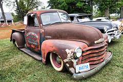 Chevy Truck (gabi-h) Tags: ontario vintage rust antique milford agriculturalfair chevytruck princeedwardcounty gabih milfordfallfair