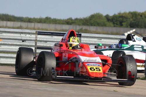 Enaam Ahmed in MSA Formula at Rockingham, September 2015