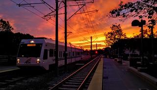VTA Sunset
