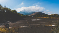 Helipad (Linus Wrn) Tags: mountains tarmac clouds landscape asia caucasus armenia asphalt helipad sevan hayastan sevanpeninsula sevanisland