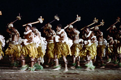 28-670 (ndpa / s. lundeen, archivist) Tags: costumes people color men film field festival fiji 35mm outdoors costume sticks dancers dancing mud outdoor traditional nick group performance culture suva southpacific barefoot 28 tradition leis 1970s performers 1972 muddy skirts weapons necklaces dewolf oceania collars fijian pacificartsfestival pacificislands inthemud festivalofpacificarts southpacificislands nickdewolf photographbynickdewolf festpac pacificislandculture southpacificfestival reel28 southpacificartsfestival southpacificfestivalofarts fiji72