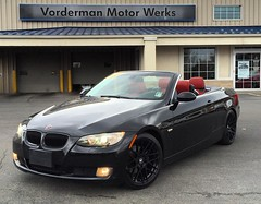 It's never a bad time to buy a toy. 2008 BMW 328i Hardtop Convertible. 70k miles. $17495. #vordermanvw #vordermanmotorwerks #bmw #3series (reg.vorderman) Tags: volkswagen vorderman vordermanvolkswagen httpvordermanvolkswagencom