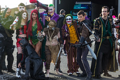 MCM CC OCT 2015 (227) (cameraview4u121) Tags: uk people game canon pose lens dc costume cosplay makeup event entertainment fantasy superhero scifi joker characters entertainer cosplayer popculture tamron comiccon fancydress poisonivy harleyquinn excel mcm mcmexpo mcmlondon mcmcomiccon londoncomicconoct2015 mcmexcel