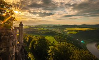 Hungerturm an der Festung Königstein reloadet