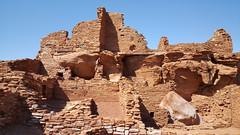Remnants of the pueblo at Wupatki NM