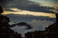 The following morning (Melissa Maples) Tags: morning mountain clouds buildings turkey dawn nikon asia trkiye antalya nikkor vr afs  liman 18200mm  f3556g  18200mmf3556g d5100