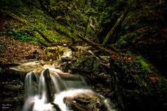 Im dunklen Tal (ThUL_Photographie) Tags: wasserfall urlaub fluss landschaft slowakei 2015 bachlauf slowakischesparadies slovenskyrayje