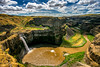 Palouse Falls (Jutaika) Tags: park clouds river landscape waterfall washington state scenic canyon falls eastern palouse