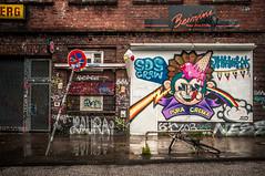 WhySoSerious?! Hamburg 11.2015 (scram_bw) Tags: streetart germany hamburg icecream elbe subculture