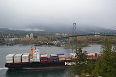MV Kobe Express (jc nadeau) Tags: vancouver port ship pacific harbour vessel container kobe express shipping mv hapaglloyd