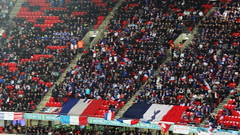 France fans at Wembley (Ben Sutherland) Tags: france wembley lamarseillaise englandvfrance liberteegalitefraternite frenchteam frenchfootball frenchfootballteam frenchfootballfederation francefootballteam parisattacks francefootballfederation