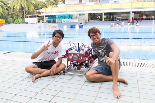 Singapore AUV Challenge 2015