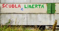 _DSC4235 (Parritas) Tags: street city streetart eye lost hope graffiti justice calle faith poor napoli napoles mafia scuola libert pobreza secondigliano arteurbano camorra scampia