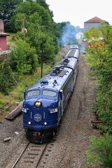 North Street Varnish (Thomas Coulombe) Tags: train photography maine waterville panam ocs passengertrain emd funit fp9 panamrailways emdfp9