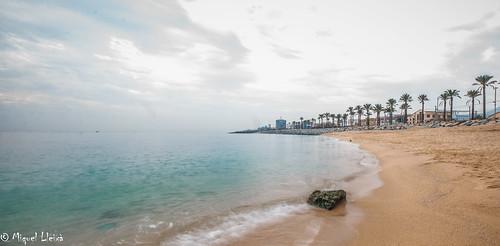 Platja de Pekin a Mataró