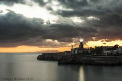 Sa farola (jorgerg770) Tags: espaa faro puerto atardecer mar nikon farola paisaje cielo nubes sa aire islas libre menorca baleares ciutadella