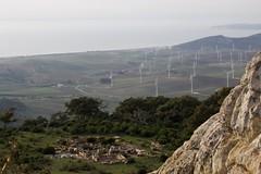 Iglesia Visigoda, S. VII d.n.e (José Rambaud) Tags: history monument windmill landscape andalucía ruins paisaje ruinas monumentos cádiz bolonia historia windturbine tarifa aerogenerador