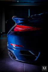 Porsche 911 Turbo (*AM*Photography) Tags: auto blue light ass car nikon automobile rear 911 exotic turbo german porsche supercar 991 d3200 worldcars