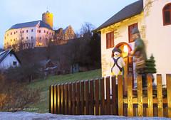 Burg Scharfenstein, Erzgebirge (dreilander) Tags: weihnachten saxony sachsen carl karl burg erzgebirge 2015 burgscharfenstein stlpner karlstlpner wildschtz