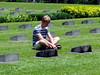 Alex Lang at World War II Memorial Cemetery, Lae (daniel.lilienkamp) Tags: cemetery worldwarii ww2 png papuanewguinea lae morobeprovince