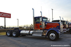 2016 Kenworth W900L Tractor (Trucks, Buses, & Trains by granitefan713) Tags: tractor kenworth newtruck largecar w900 cooltruck longhood daycab trucktractor nonsleeper kenworthtruck w900l kenworthw900 kenworthw900l nostalgicpaintscheme