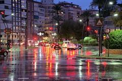 Rain (Toto Olmos) Tags: murcia noche night nite lluvia rain
