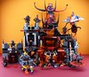 LEGO 70323 Jestro's volcano lair (Alex THELEGOFAN) Tags: lego legography minifigures minifigure minifig minifigs minifigurine 70323 jestro jester volcano lair lavaria lance macy nexo knights scurrier moltor ash attacker axl bookkepper lava volcan vehicle red black orange monster