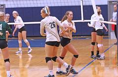 IMG_8140 (SJH Foto) Tags: girls volleyball high school york delone catholic team teen teenager substitution sub rotation