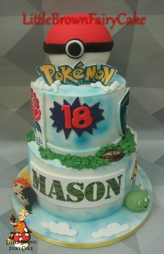 a memory cake