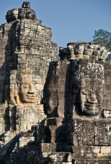 Khmer Smile, Bayon (B.YAO Travel Photos) Tags: cambodia siemreap khmersmile bayon angkorthom