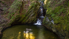 Light in the Swimming Hole (Ken Krach Photography) Tags: waterfall vermont