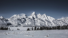 Grand Teton (3rd-Rate Photography) Tags: grandteton grandtetons mountain mountainrange nature landscape snow nationalpark jackson wyoming 50mm 5dmarkiii 3rdratephotography earlware