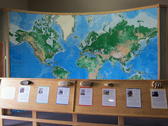 Fossils around the world (pr0digie) Tags: southdakota hotsprings mammothsite pleistocene sinkhole mammoth bones excavation fossils map
