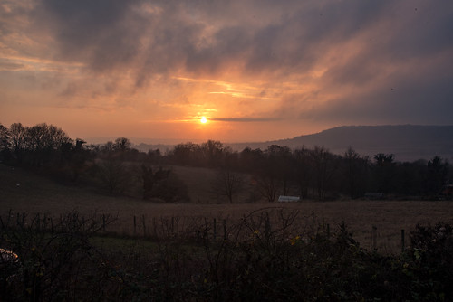 Darent Valley Sunset