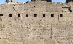 Luxor Temple: Battle scenes of Ramses II (kairoinfo4u) Tags: egypt égypte egitto luxor ägypten luxortemple ramses battlescenesoframsesii ramessesii