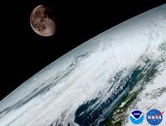 GOES-16 ABI Moon from Geo Orbit