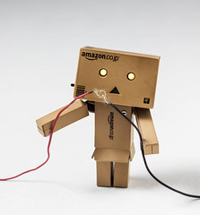 Be Careful with Electricity, Danbo! (vmabney) Tags: danbo danboard toys electricity