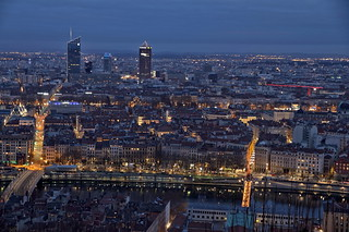 The lights of Lyon