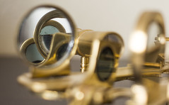 In the Mirror (solsetimo) Tags: macromonday macro monday macromondays mirror sextant redux 2016my favorite theme year mondays redux2016myfavoritethemeoftheyear