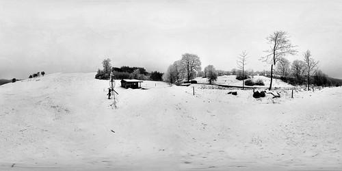 Lyžařský vlek Osiky, pouze přírodní sníh