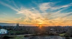 Les Ardoisières - Trélazé (Florent Brique) Tags: trélazé sun angers paysage nikon sunset coucher de soleil ardoise nikkor carrière afs 2470 f28 ardoisières landscape coucherdesoleil nikkorafs2470f28