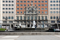 Edificio Espana, Madrid 2016 (Spiegelneuronen) Tags: madrid edificioespana plazadeespana 1948 architektur