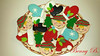 Christmas cookies (Beni 2) Tags: cake gumpaste shugar flowers christmas cookies
